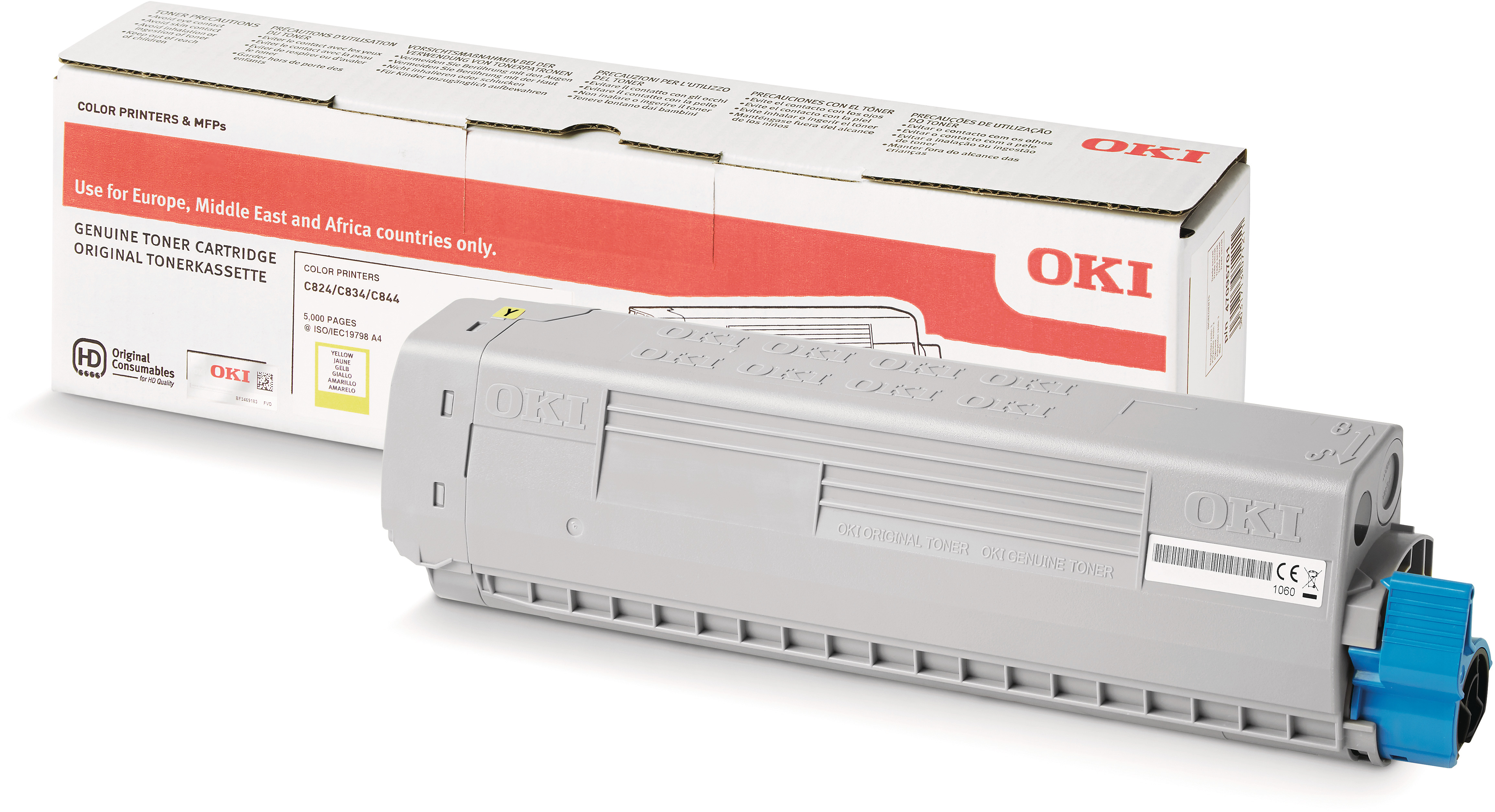OKI 47095701 Toner yellow