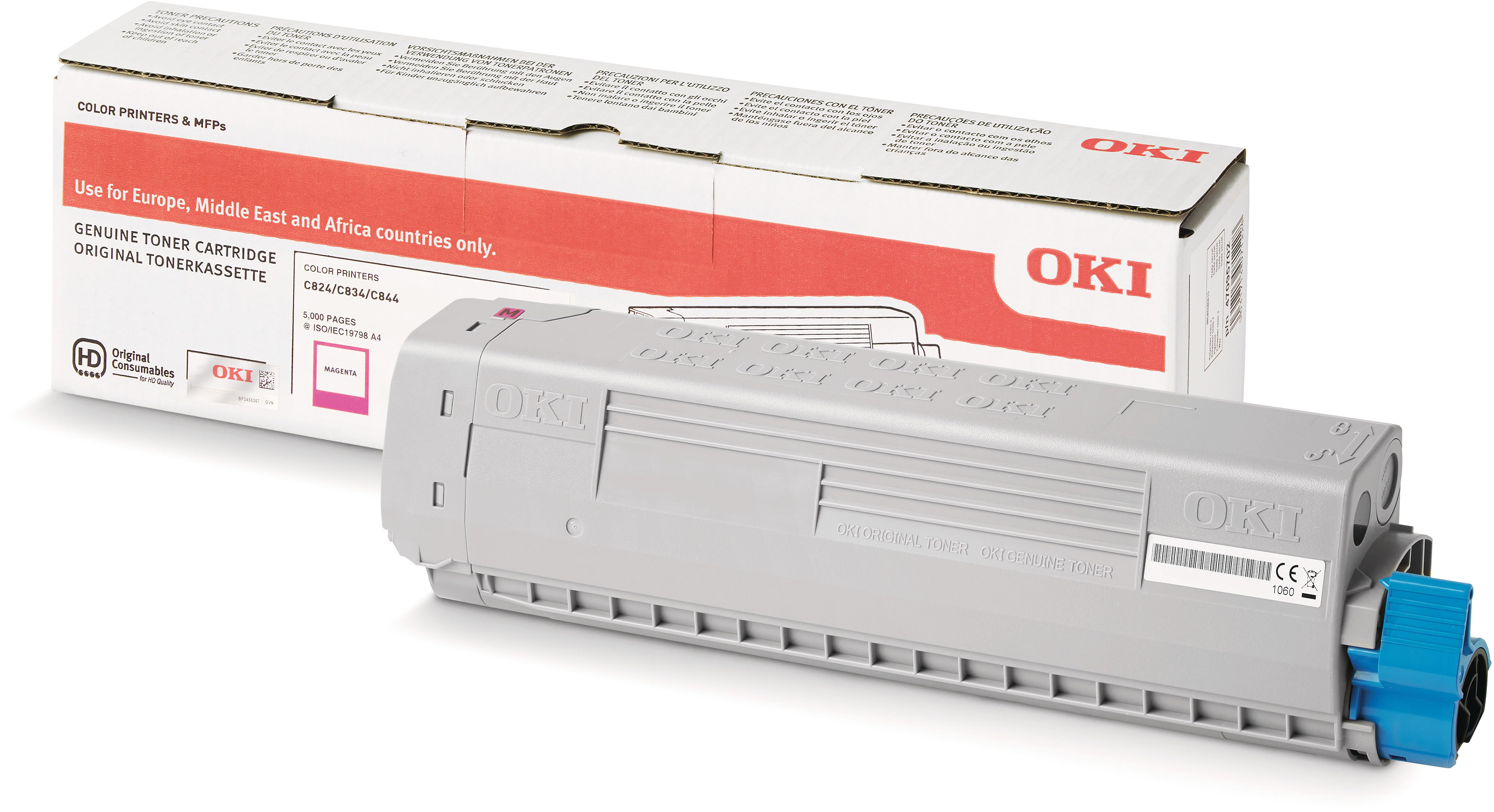 OKI 47095702 Toner magenta