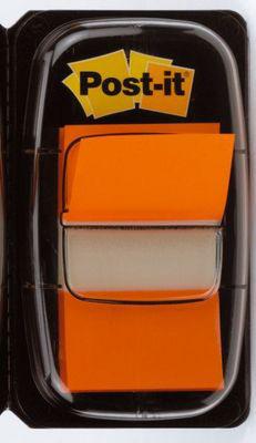 POST-IT Index Tabs 25,4x43,2mm 680-4 orange/50 Tabs