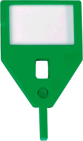 RIEFFEL Schlüssel-Anhänger KyStor KR-A GRÜN/10 grün