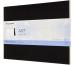 MOLESKINE Wasserfarbblock SC 31x23cm 603258 Aquarell, schwarz, 20 Seiten
