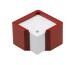 ARLAC Zettelbox Memorion 257.12 bordeaux 10x10cm
