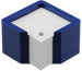 ARLAC Zettelbox Memorion 257.24 blau 10×10cm