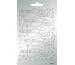 ARTOZ Collato Sticker 100x165mm 18320897 Frohes Fest Sterne, silber