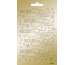 ARTOZ Collato Sticker 100x165mm 18320899 Frohes Fest Sterne, gold