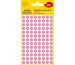 AVERY ZW. Markierungspunkte 8mm 3594 Pink, ablösbar 4 Blatt