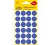 AVERY ZW. Markierungspunkte 18mm 3596 Blau, ablösbar 4 Blatt