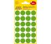 AVERY ZW. Markierungspunkte 18mm 3597 Grün, ablösbar 4 Blatt