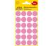 AVERY ZW. Markierungspunkte 18mm 3599 Pink, ablösbar 4 Blatt