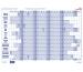 BEREC Papierjahresplan A3 B5603/21 2021, blau