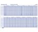 BEREC Jahresplan 90x60cm B5702TF21 2021, blau