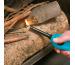 BIC Feuerzeug U140 6cm 862261 blau-silber/schwarz-silb. ass.