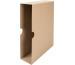 BIELLA Schuber Ordner 7cm 0114400.1 Standard, braun 5 Stück