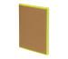 BIELLA Notizbuch Skandal 14,8x21cm 0539515.2 kariert, gelb