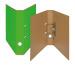 BIELLA Ordner Skandal 4cm 139404.3 hellgrün A4