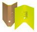 BIELLA Ordner Skandal 4cm 139414.2 gelb A4