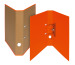 BIELLA Ordner Skandal 4cm 139414.3 orange A4