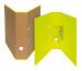BIELLA Ordner Skandal 7cm 139417.2 gelb A4