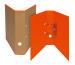 BIELLA Ordner Skandal 7cm 139417.35 orange A4