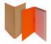 BIELLA Schreibmappe Skandal A4 239410.3 orange