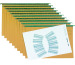 BIELLA Hängenmappen-Set A4 27041400 olive 10 Stück