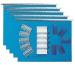 BIELLA Hängemappe-Set 271455.05 blau 5 Stück
