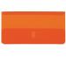 BIELLA Klarsichthülsen 273602.35 orange, Beutel à 25 Stk.