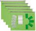 BIELLA Hängenmappen-Set A4 83105 hellgrün 5 Stück