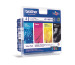 BROTHER Valuepack Tinte HY CMYBK LC-1100VH MFC-6490CW 900/750 Seiten