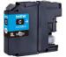 BROTHER Tintenpatrone XL cyan LC-125XLC DCP-J4110DW 1200 Seiten
