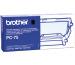 BROTHER Druckkassette m. Filmrolle  PC-75 Fax T102/104/106 140 Seiten