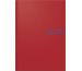 BRUNNEN Buchkalender 2021 A5 107956101 rot d/e/f/i/sp/h, 1T/S