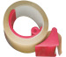 BÜROLINE Mini-Handabroller 50mmx66m 131350 Verpackungsband