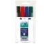 BÜROLINE Flipchart Marker 1-4mm 223019 4 Farben, Etui