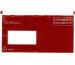 BÜROLINE Dokumententasche D/F C6/5 306249 rot 250 Stück