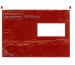 BÜROLINE Dokumententaschen C5 306284 rot/schwarz 250 Stück