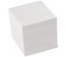 BÜROLINE Zettelbox Papier 90x90mm 376460 weiss, 80gr. 700 Blatt