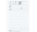 BÜROLINE Telefonblock D/F/I A5 542031 80 Blatt weiss