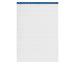 BÜROLINE Büroblock weiss A4 543182 kariert,5mm, 80g 100 Blatt