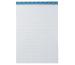 BÜROLINE Büroblock weiss A4 543192 kariert,5mm, 65g 100 Blatt