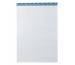 BÜROLINE Büroblock weiss 4xgelocht A4 543194 kariert,4mm, 65g 100 Blatt