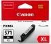 CANON Tintenpatrone XL schwarz CLI-571XL PIXMA MG5750 11ml