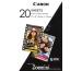 CANON ZINK Papier 50x75mm ZP-2030 20 Blatt