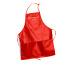 CARAN D´A Malschürze 121.101 rot, plastik