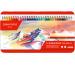 CARAN D´A Farbstifte Supracolor 3,8mm 3888.380 ass. in Metallsch. 80 Stück