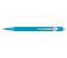 CARAN D´A Kugelschreiber 849 Metal-X 849.171 türkisblau
