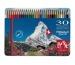 CARAN d´A Farbstifte Prismalo 3mm 999.330 ass. in Metallsch. 30 Stück