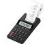 CASIO Tischrechner druckend HR-8RCEBK 12-stellig schwarz