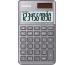 CASIO Taschenrechner BIC SL1000SCG 10-stellig grau