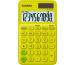 CASIO Taschenrechner SL310UCYG 10-stellig gelb/grün